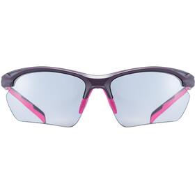 UVEX Sportstyle 802 V Sportglasses Small purple/pink/smoke